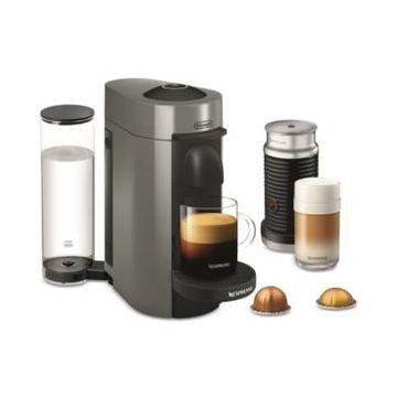 Nespresso by De'Longhi VertuoPlus Coffee and Espresso Machine with Aerocinno
