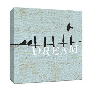 PTM Images,Birds on a Wire Square Dream
