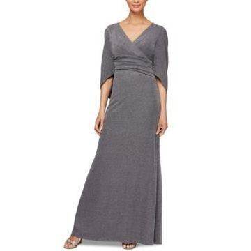 Alex Evenings Allover-Glitter Column Dress