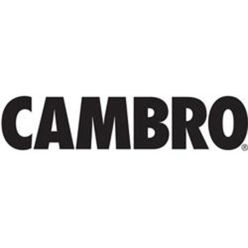 Cambro Cover for 1000LCD (Camtainer 10 Gal) Black