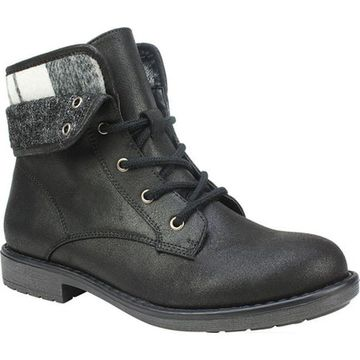 Cliffs by White Mountain Women's Derby Ankle Boot Black Multi Textile