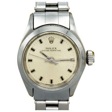 Rolex Lady Oyster Perpetual 26mm Silver Steel Watches
