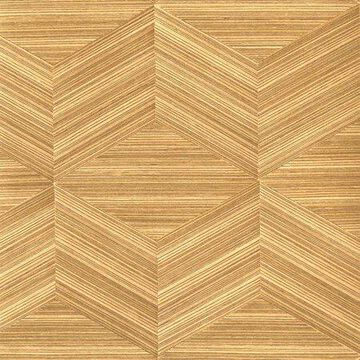 Kenneth James Lena Brown Wood Veneers Wallpaper