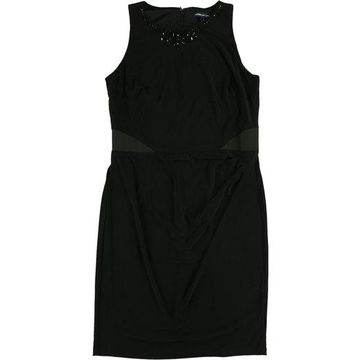 American Living Womens Beaded Jersey Dress