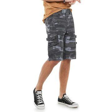 Men's Urban Pipeline Stretch Fine Faille Ultra Flex Cargo Shorts, Size: 32, Black