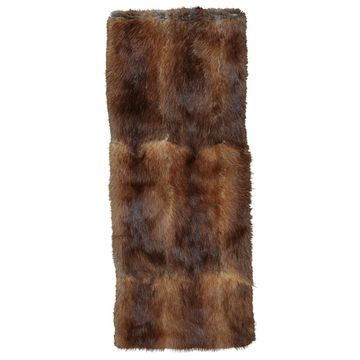 Givenchy Brown Fur Scarves