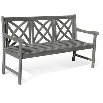 Vifah Renaissance Eco-friendly 5' Outdoor Hand-scraped Hardwood Garden Bench
