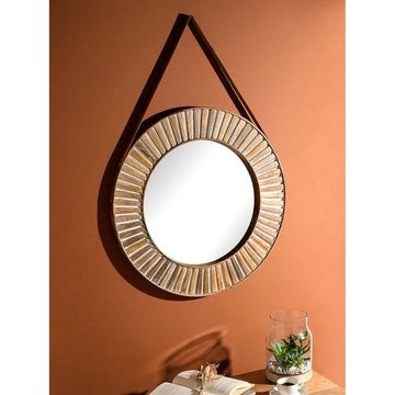 Aurora Home Gold Moroccan Arch Mirror - Antique Brown - A/N