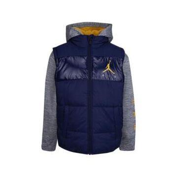 Big Boys Jordan Color Block 2 Fer Jacket