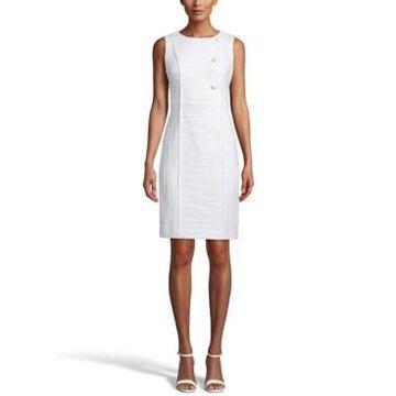 Anne Klein Textured Sheath Dress