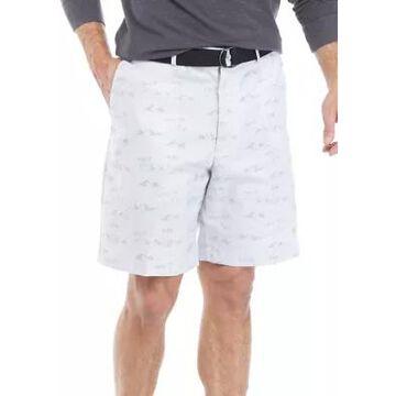 Savane Men's Island Printed Oxford Shorts -