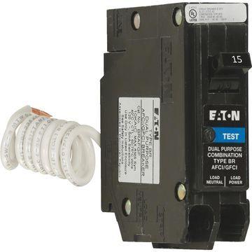 Eaton Corporation 15a Afci/Gfci Sb Breaker BRN115DF