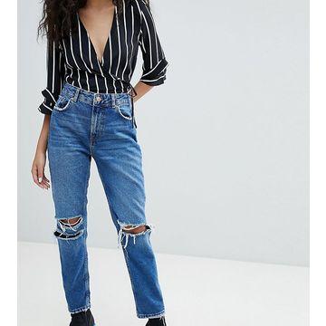 Bershka Ripped Knee Jean