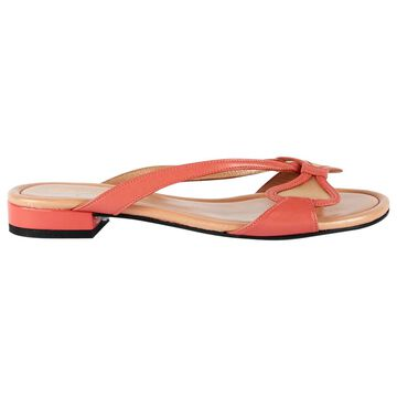 Robert Clergerie Pink Leather Sandals