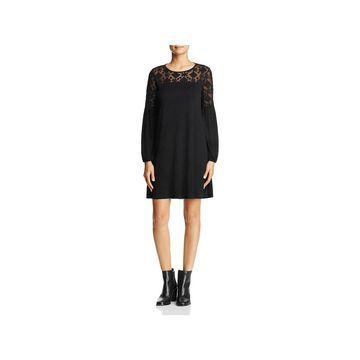 Three Dots Womens Party Dress Jersey Lace