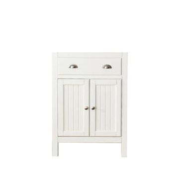 Avanity Hamilton 24-in French White Bathroom Vanity Cabinet