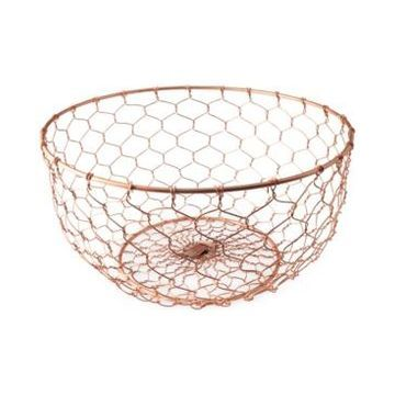 Thirstystone Copper-Finish Wire Bowl