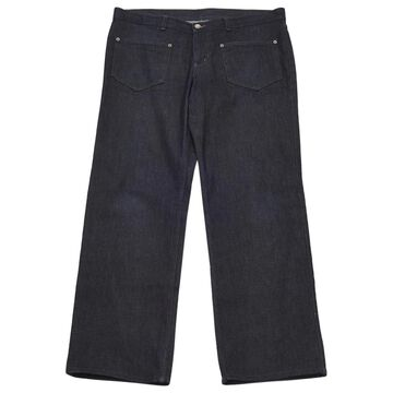 Neil Barrett Blue Cotton Jeans
