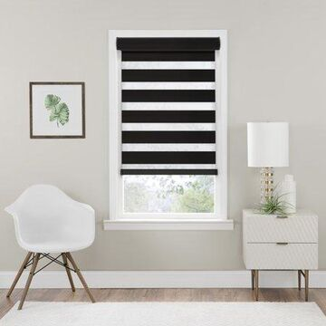 Achim Cordless Celestial Room Darkening Double Layered Shade