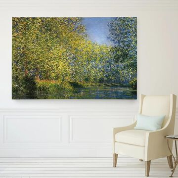 Wexford Home Monet's 'Bend in the River' Fine Art Giclee