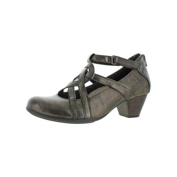 Earth Womens Virtue Dress Pumps Leather Cushioned