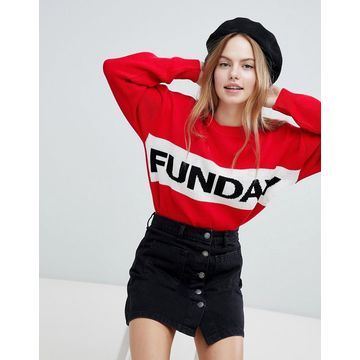 QED London funday sweater