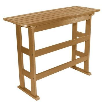 highwood Lehigh Bar Height Balcony Table