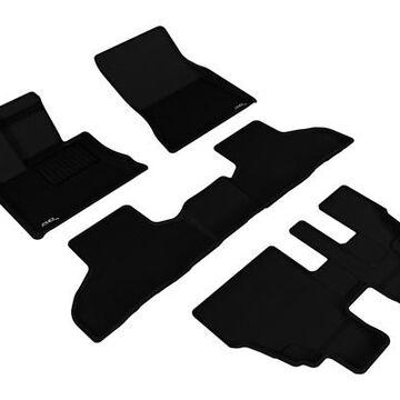 3D Maxpider Kagu Floor Mats, Floor Mat Set - KAGU Floor Mat - PN L1BM06301509 in Black