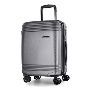 Bugatti Nashville Hard Side Luggage, Grey, 24 INCH