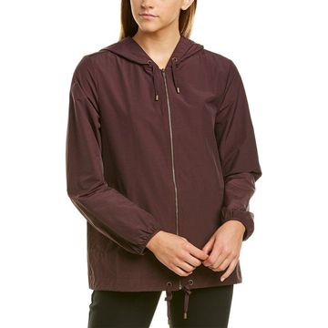 Eileen Fisher Womens Hooded Jacket