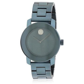 Movado Women's 'Bold' Blue Stainless Steel Watch