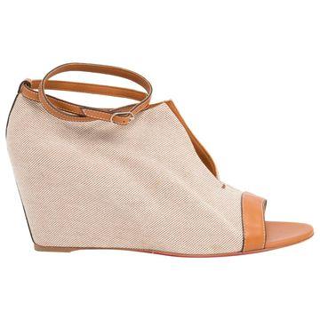 Christian Louboutin Beige Cloth Heels