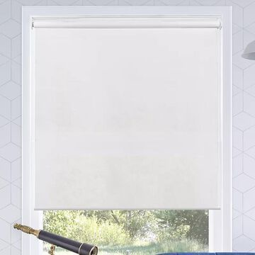 Chicology Cordless Roller Shade, White, 68X72