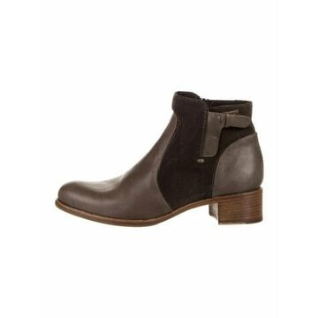 Leather Chelsea Boots Brown