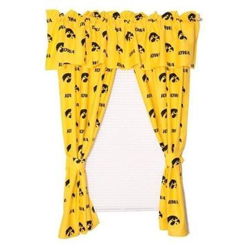 College Covers Iowa Printed Curtain Panels 42
