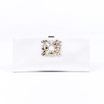 Roger Vivier White Cloth Clutch bags