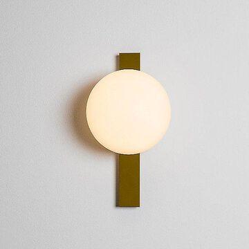 Estiluz Circ LED Wall Sconce - Color: Gold - 037206172