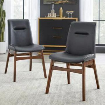 Simple Living Vance Dining Chair (Set of 2) (Set of 2 - Black - Dining Height)