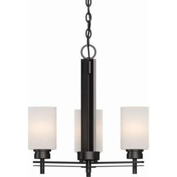 Volume Lighting Carena 3-Light Mini Hanging Chandelier