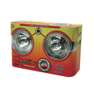Hella Optilux 2500 12V 55W Angel Eyes Driving Lamp Kit