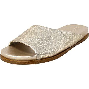 1.State Women's Onora Metallic Leather Sandal