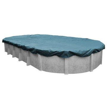 Robelle 12-Year Galaxy Oval Winter Pool Cover, 12 x 18 ft. Pool