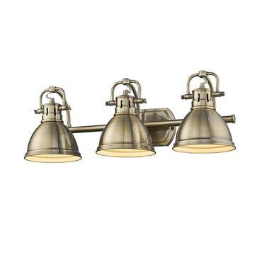 Golden Lighting Duncan 3-light Bath Vanity Fixture