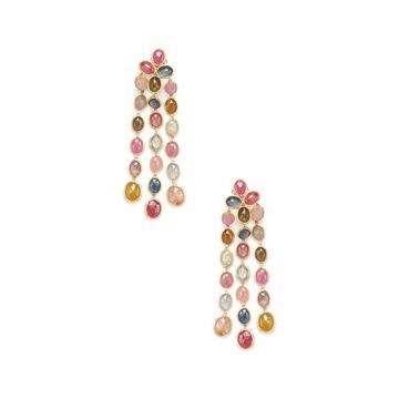 Marco Bicego Siviglia 18K Yellow Gold Gemstone Drop Earrings