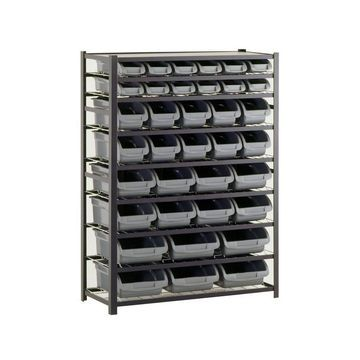 Steel Commercial Bin Shelving Unit