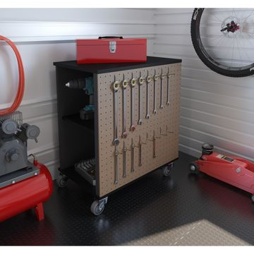 Bestar Lincoln Mobile Storage Cabinet