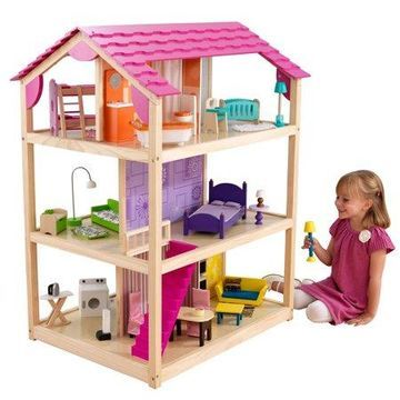 KidKraft So Chic Dollhouse with 46 accessories included