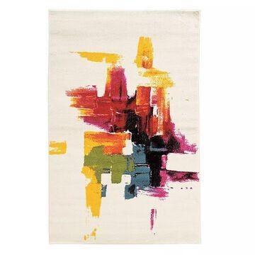Linon Masters Multi-Color Rug, Multicolor, 5X7.5 Ft