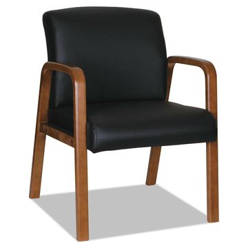 Alera Alera Reception Lounge WL Series Guest Chair 20 7/8x20 7/8x17 7/8 BK