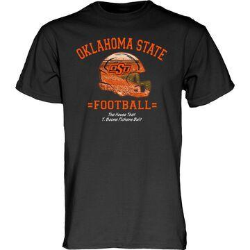 Blue 84 Men's Oklahoma State Cowboys T. Boone Pickens Football Black T-Shirt
